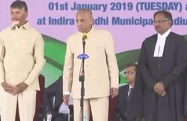 Justice Praveen Kumar Sworn In As Chief Justice Of AP High Court