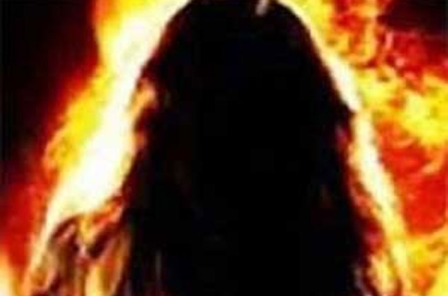 son in law set fire to mother in law