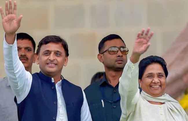 SP BSP Alliance in UP
