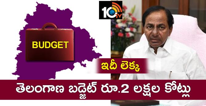 Telangana Budget Analysis 2019-2020