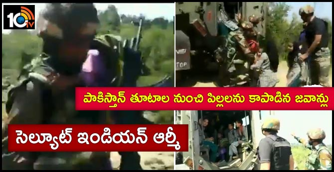 Indian Army rescues children from Government school