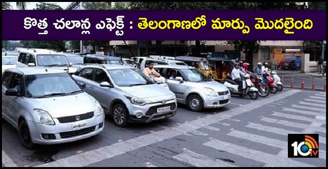 new motor vehicle act effect in telangana