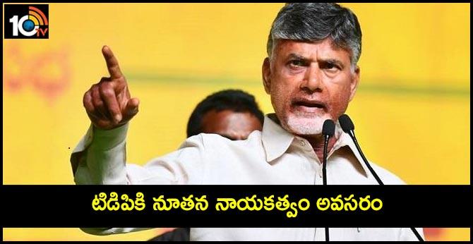 tdp restructure in Telangana says chandrababu