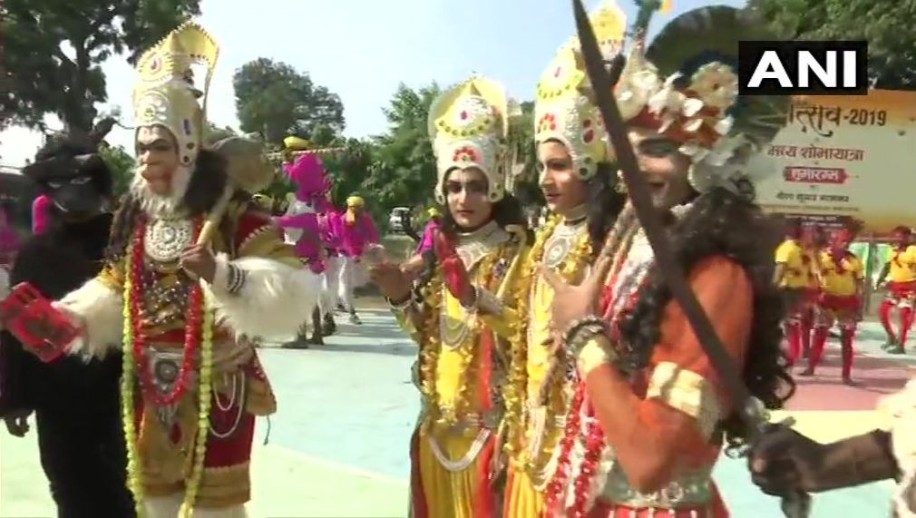 Artists gather in Ayodhya for 'deepotsav' procession..5.50 lakh earthen lamps will be lit at Saryu Ghat on Diwali