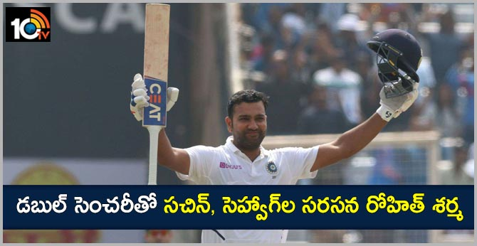 India vs South Africa: Rohit Sharma emulates Sachin Tendulkar, Virender Sehwag with Ranchi double hundred