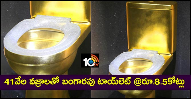 Rs 8.5 crore gold toilet embedded with 40,815 diamonds can set Guinness World Record