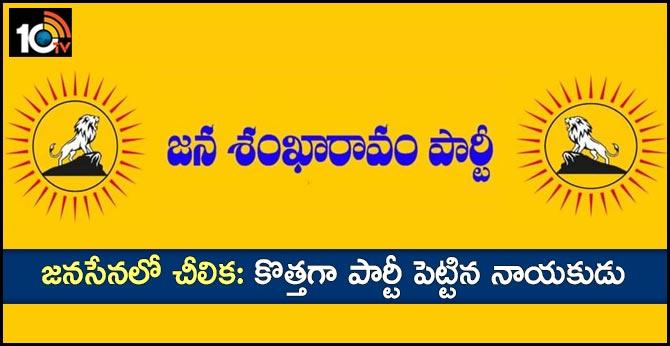 A New Political Party formed in Telangana named as Jana Shankaravam party