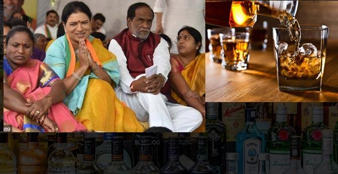 Dk Aruna Hunger Strike Ends Over Liquor