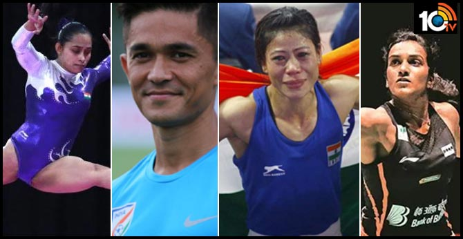 Sunil Chhetri 53, PV Sindhu 5, Mary Kom 8: India's decade in numbers