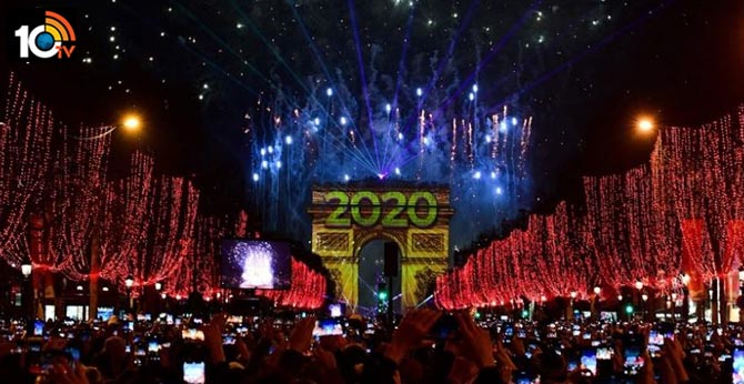 Hello 2020! Cities ring in the new year around the world