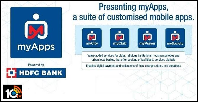 In a first, HDFC Bank launches myApps to boost digital payments