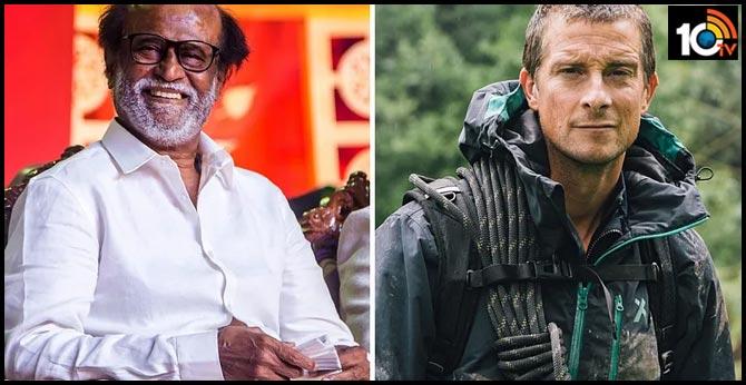 man vs wild షో లో సూపర్ స్టార్ రజనీకాంత్!