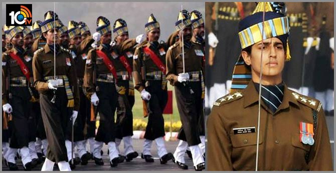 Tanya Shergill Lead The Army Contingent At The Republic Day Parade 2020