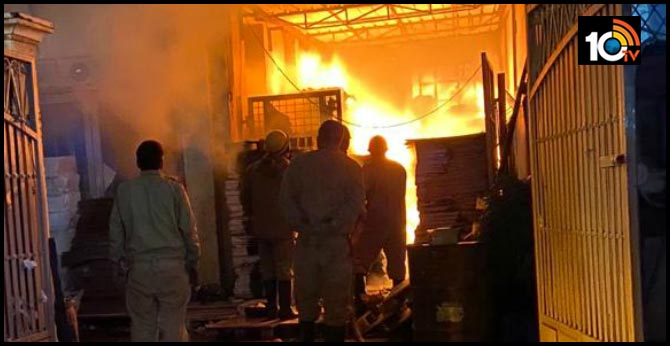 Another fire in Delhi ... One dead