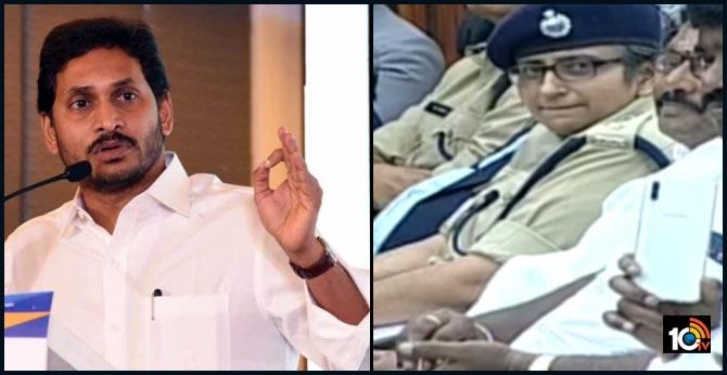 AP CM YS Jagan Appreciates SP Shemushi Bajpai