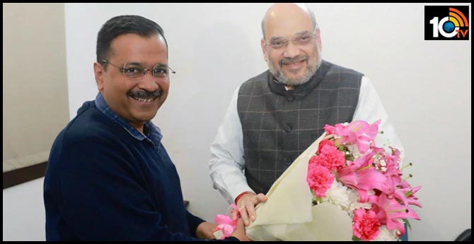 """""""Good And Fruitful Meeting"""" With Home Minister Amit Shah: Arvind Kejriwal"""