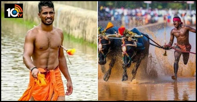 Another Kambala runner Nishant Shetty breaks Srinivas Gowda record