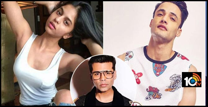 Karan Johar to launch Shah Rukh Khan's daughter Suhana Khan and Bigg Boss 13 runner up Asim Riaz?