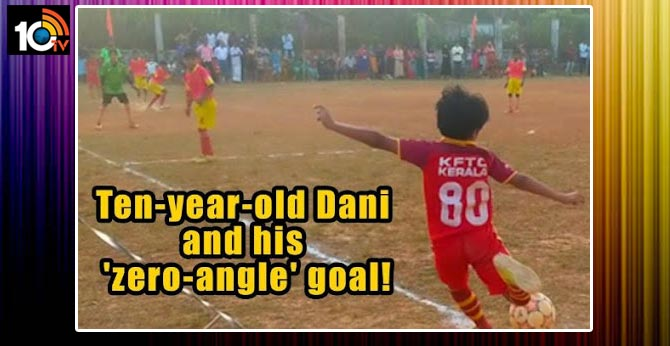Kerala kid's 'zero-degree' corner kick goal