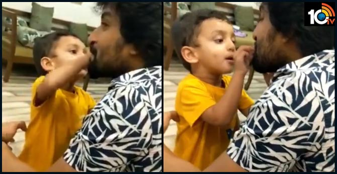 Natural Star Nani son Arjun cute Birthday Wishes