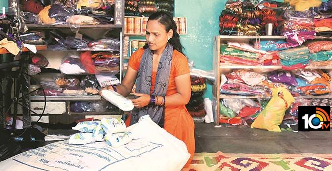 అస్మిత పథకం : యాప్ లో రూ.5కే శానిటరీ ప్యాడ్స్