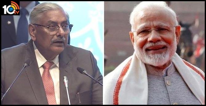 Supreme Court judge Justice Arun Mishra praised Prime Minister Narendra Modi