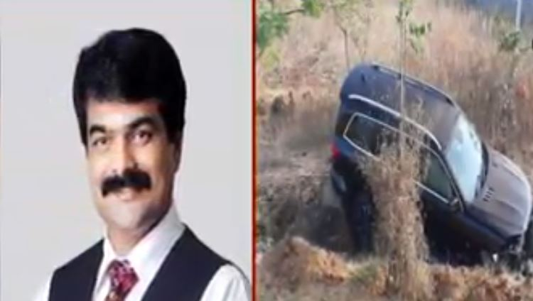 Brother Anil Kumar injured in road accident