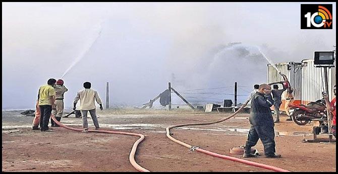 gas leakage in konaseema ongc well