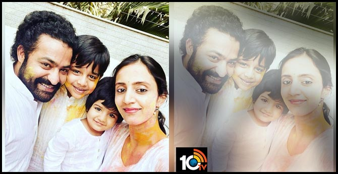 A smile filled HOLI wishes from Jr.NTR and family