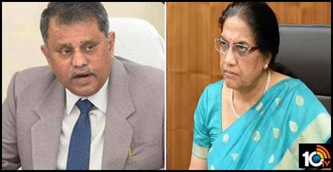 AP Election Commissioner Ramesh Kumar has written a letter to AP CS Neelam Sahni