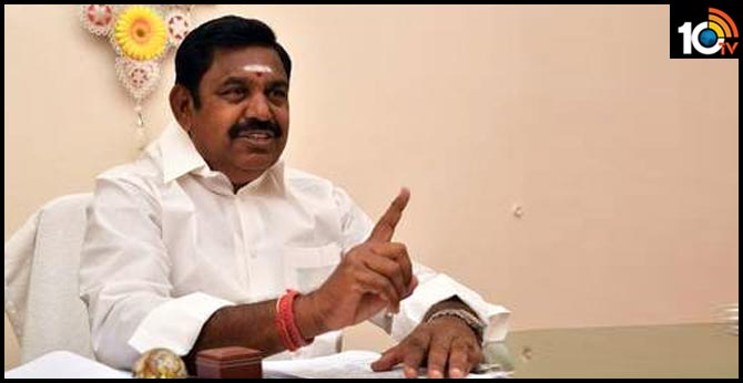 Coronavirus: Avoid travel out of Tamil Nadu for 15 days, says CM Palaniswami