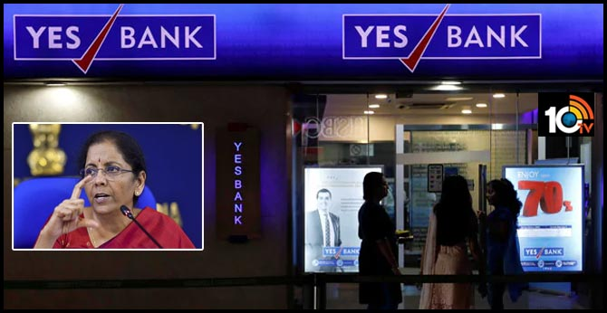 Your Money Safe, Says Finance Minister As Yes Bank Crashes 85%