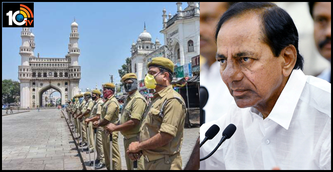 cm kcr Comments lockdown conditions telangana