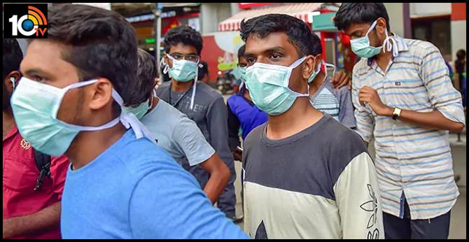coronavirus patients walks around cm house