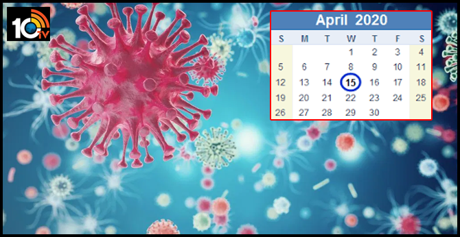 will coronavirus spread severely in april in india