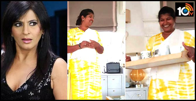 Archana Puran Singh House Inside Video Fun Moment With House Maid