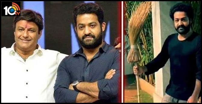 Jr NTR's Be The Real Man Challenge to Balakrishna
