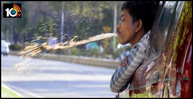 karnataka Imposed ban on spitting of pan gutka in public places