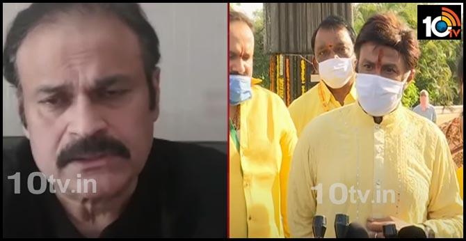 Mega Brother Nagababu's serious on hero Balakrishna's comments