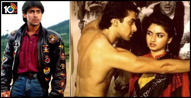 When Salman Khan was asked to catch and smooch his 'Maine Pyaar Kiya' co-star Bhagyashree