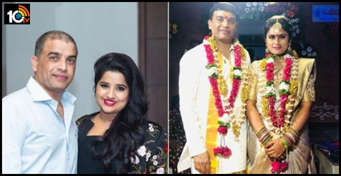 Dil raju daughter Anshitha reddy wishing him of his second marriage