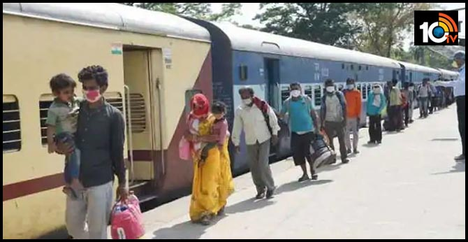 No consent required from destination states to run Shramik Special trains: Railways