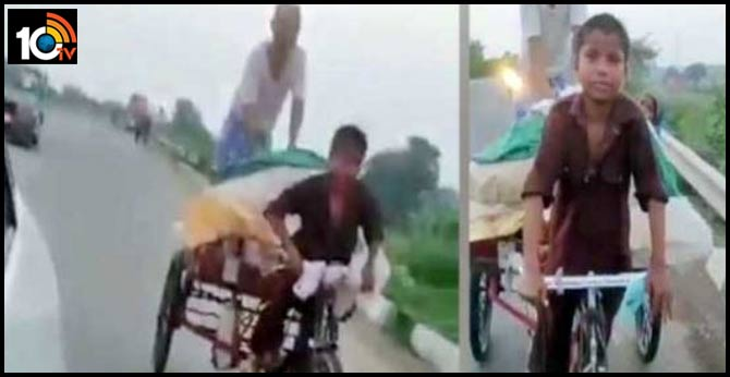 11-Year-Old Gets Parents Home Amidst Lockdown by Pedalling Tricycle Cart for 600 kms