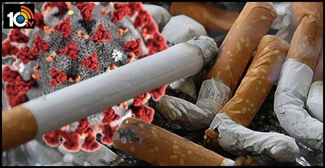 Three friends shared One cigarette tests corona positive