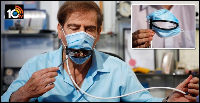 Israeli inventors have developed a coronavirus mask