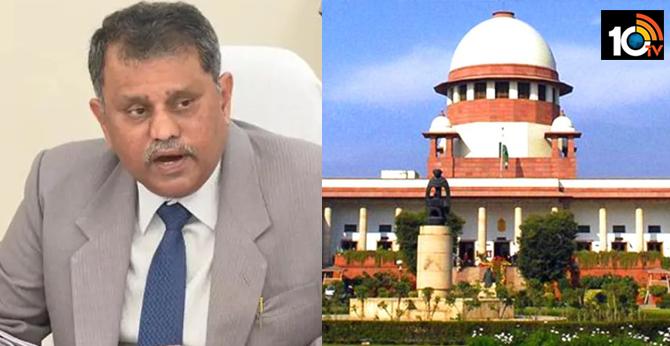Nimmagadda Ramesh case AP government to go to the Supreme Court