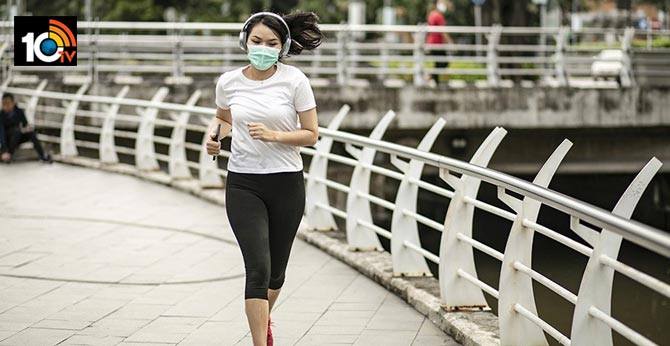 Will you do exercise without wearing of Mask