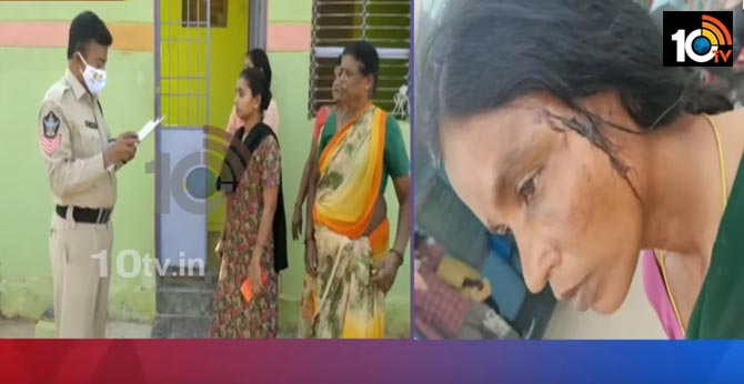 A series of attacks on volunteers in Chittoor district