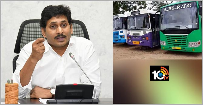 cm jagan decision on rtc bus services