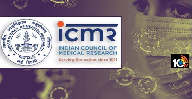 ICMR Coronavirus Community Spread Random Tests